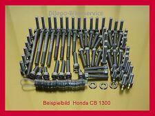 Honda CB1300 / SC38 / X 4 / X4  Motorschrauben Schrauben Edelstahl Schraubensatz