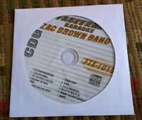 ZAC BROWN BAND KARAOKE COUNTRY CDG DISC 2011 MUSIC CD CD+G FASTTRAX FTX-1016