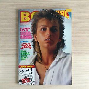 Rivista Boy Music - Anno X n. 23 - 8 giugno 1981 - Gianna Nannini + Poster Pooh