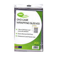 Envolturas de DVD para caso 14mm (paquete de 100)