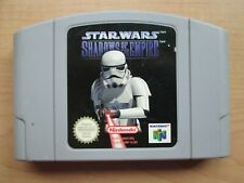 Nintendo 64 - Star Wars Shadows of the Empire - GAME ONLY