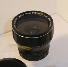 HANGOR SEMI-FISHEYE WIDE CONVERSION LENS , FITS 49mm & 52mm FILTER THREADS