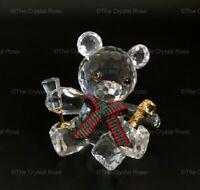 RARE Retired Swarovski Crystal Kris Bear Celebration Champagne 238168 Mint Boxed