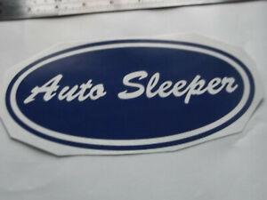 AUTO SLEEPER LARGE Vinyl Stickers large Caravan Camping  set x4