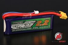 Turnigy 2 cell Nano-Tech 2200 mAh 2S 7.4V 25-40C Lipo Battery