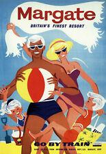 Art Ad Margate Britains Finest Resort Southern  Train Rail Travel  Poster Print