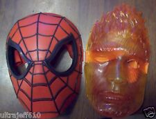 MARVEL 2 SPIDERMAN AND THE TORCH HALF MASKS KIDS