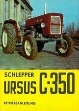 Bedienung Traktor Schlepper Ursus C 350 Polen