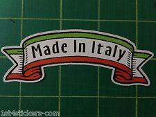 Fabriqué en italie Autocollant Grande Qualité Fiat italien MOTO GUZZI Alfa Romeo Banner