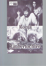 NFP Nr.8429 Ronja Räubertochter (Hanna Zetterberg)