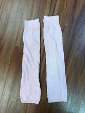 Bloch Pink Bubble Knit Leg Warmers One Size