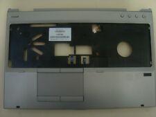 Hp Elitebook 8560p palmrest with touchpad and fingerprint reader 641207-001