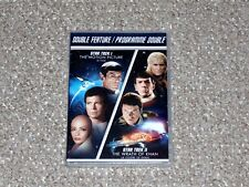 Star Trek I & II: The Wrath of Khan Double Feature DVD 2013 New Canadian