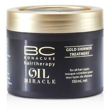 NEW Schwarzkopf BC Oil Miracle Gold Shimmer Treatment (For All Hair Types) 150ml