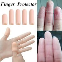 5pcs Silicone Gel Tube Bandage Finger Toe Protector Foot Pain Relief Feet Care