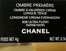 CHANEL OMBRE PREMIERE À PAUPIÈRES CREME LONGUE TENUE 838 ULTRAFLESH SATINE  NEUF