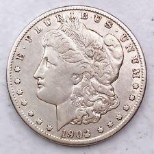 1902-O RARE DATE MORGAN SILVER DOLLAR 90% SILVER $1 COIN US #L31