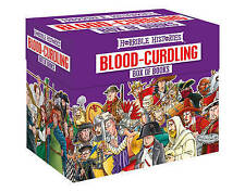 Horrible Histories Blood Curdling Collection Box Set 20 Books Children Kids Gift