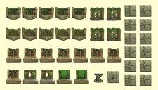 "Dwarven Forge Woodland Set ""Limited edition"" Master Maze Great shape"