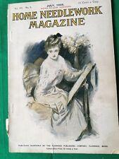 Home Needlework Magazine, July 1905