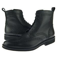 """Алекс д """"Портленд"""" мужской костюм-повседневные ботинки с кожаной накладкой кожаный сапог, черный"""
