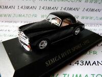 SIM23F Voiture 1/43 IXO altaya Voitures d'autrefois : SIMCA HUIT 8 sport 1952