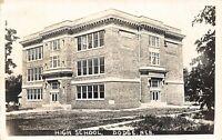 Dodge Nebraska~High School~1920s Real Photo Postcard~RPPC