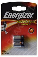 Genuine Energizer 4LR44 A544 L1325 Alkaline Battery 6v (2-Pack) Same Day Shpt