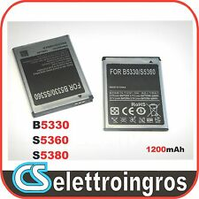 Batteria Samsung Galaxy Y YOUNG S5360 1200MAH Sped. Pro 1