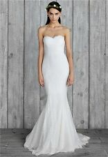 NICOLE MILLER PERRY BRIDAL WEDDING DRESS SIZE 10 GI10001 $1400