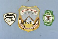 Vintage PATCHES VALLEY GUN CLUB EL CAJON SAN DIEGO C0 CA + HIGH STANDARD #08925