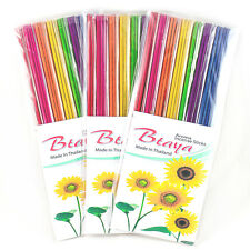 Mix Scents Incense Sticks 8 Inch Pack Hand Dipped Bulk Cones Aroma Pick Btaya