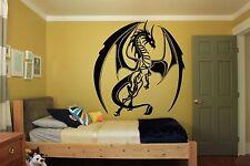 Wall Room Decor Art Vinyl Sticker Mural Decal Tribal Monster Dragon Draco FI530