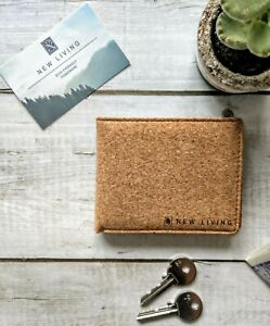 Cork Wallet, New Living, Eco Product, 100% Vegan, Fast Delivery UK
