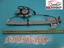Window Regulator with Motor Rear Left Driver Fits Infiniti QX4 1999 00 01 02 03