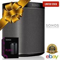 Sonos PLAY 1 Wireless Smart Speaker - WiFi Music Audio System Alexa iPhone Black