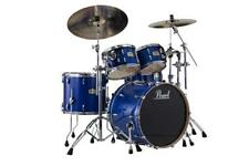 Pearl SSC Session Studio Classic 4-Piece Shell Set (Sheer Blue)
