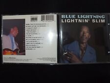 CD LIGHTNIN' SLIM / BLUE LIGHTNING / RARE /