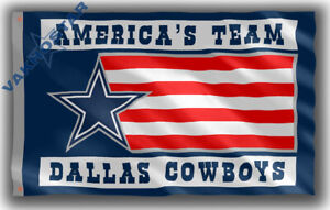 Dallas Cowboys America's Team Memorable Footbal Flag 90x150cm 3x5ft best banner
