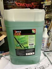 TRIPLE QX  15 BELOW  25 LTR APPLE FRAGRANCE Concentrated screen wash