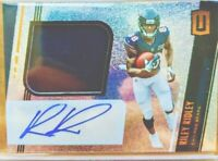 2019 Panini UNPARALLELED RILEY RIDLEY Rookie Jersey PATCH AUTO RC RPA BEARS