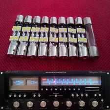 8x LED Lampen Marantz Vintage Stereo Pioneer Sansui Tuner Receiver Licht Ersatz