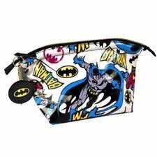 Dc Batman Pop Art Sac Lavage Avec Miroir Compact - Voyage Cosmétiques Toilette