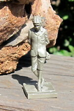 Vintage Franklin Mint Pewter Sep Series 19781 1898-1907 First Date Boy W/Flowers