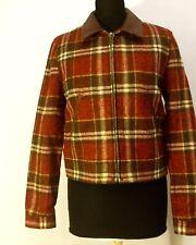 Ralph Lauren Wool Coat jacket With Leather Collar Women's Size UK10 RRP 570£