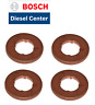 4X BMW 1 2 3 4 5 6 7 X SERIES - BOSCH COMMON RAIL DIESEL INJECTOR COPPER WASHER