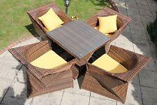 HighGate 4 Seater Rattan Garden Furniture Set