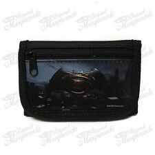 Marvel Batman Teen Boys Black Tri-Fold Wallet
