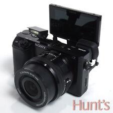 SONY ALPHA a6100 24.2MP APS-C DIGITAL CAMERA w/16-50mm LENS ** < 30 CLICKS **