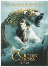 "2007 INKWORKS ""GOLDEN COMPASS"" COMIC CON PROMO TRADING CARD - V/GOOD CONDITION"